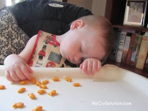 SleepyBreakfastPatrick15mths