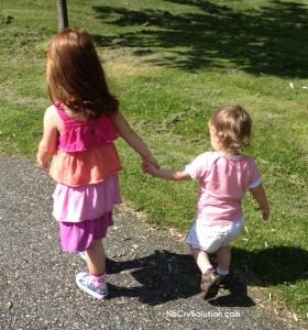 Lorelei, 3.5 yrs; Annabelle 1.5 yrs