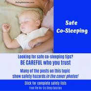 Co-Sleeping: Making it Safe