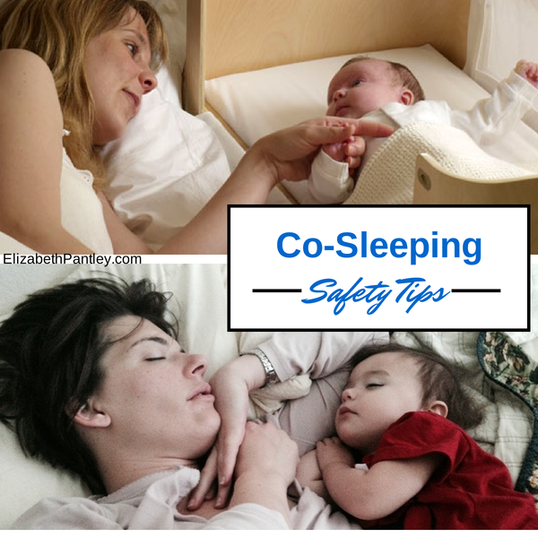 Co-Sleeping Safety Tips from Elizabeth Pantley @NoCrySolution #parenting