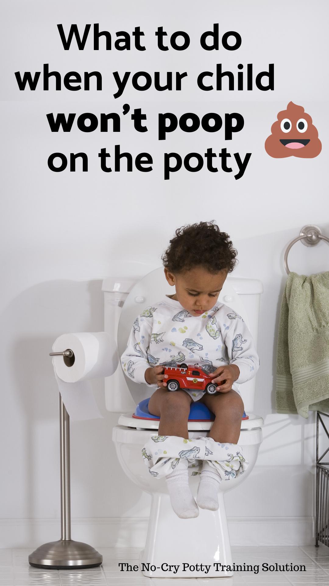 child won't poop