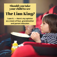 The Lion King 3D: Is it Right for Your Child?
